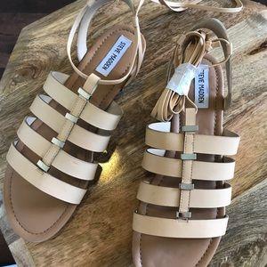 Steve Madden Flat Lace-Up Sandals